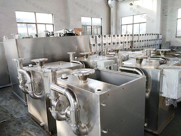 商城埋地式移动油污下水道分离器改造厂家