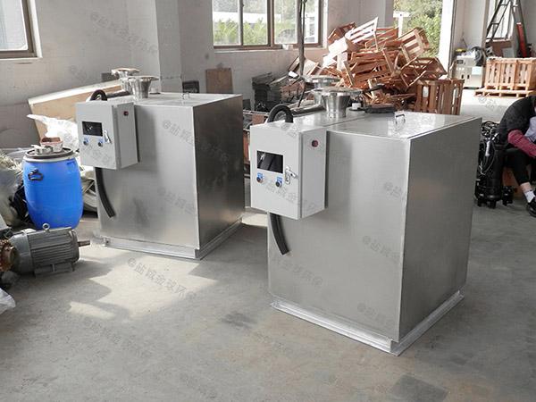 3.5米*1.35米*1.85米餐厨自动提升油水分离机生产厂家