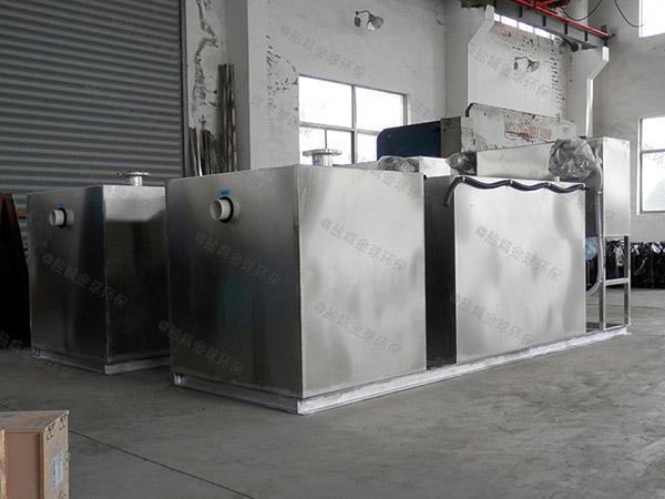3.1米*1.2米*1.85米餐厅自动成品隔油池批发