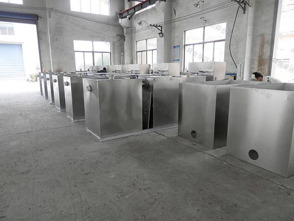 3.1米*1.2米*1.85米厨房自动提升隔油池做法