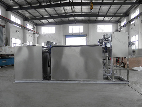 商家地上式机械隔油污水提升设备制造商