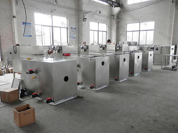 2.8米*1.2米*1.75米餐饮自动除渣水油分离规格型号及价格