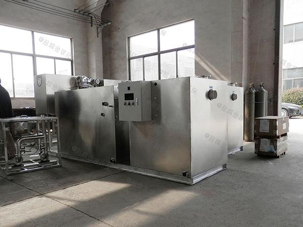 甲型食堂自动刮油含油污水处理怎么安装