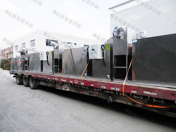 2.8米*1.2米*1.75米厨房自动隔油提升装置做法
