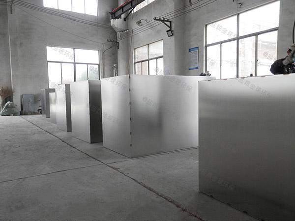 生活地下室全能型一体化隔油提升设备升级改造