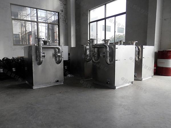 日处理5吨自动化餐饮垃圾油水分离一体机结构设计