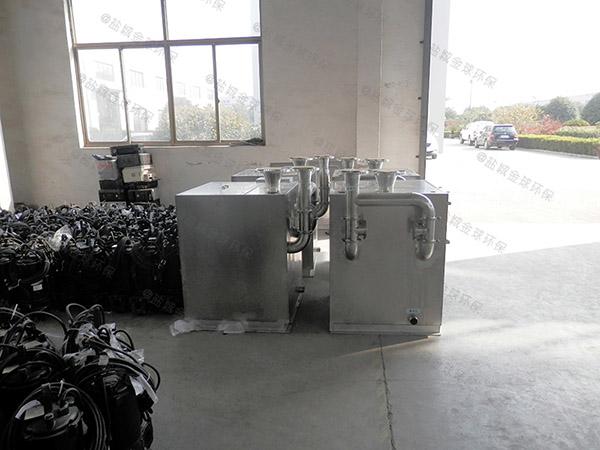 2号小餐馆废水隔油一体化设备改造厂家