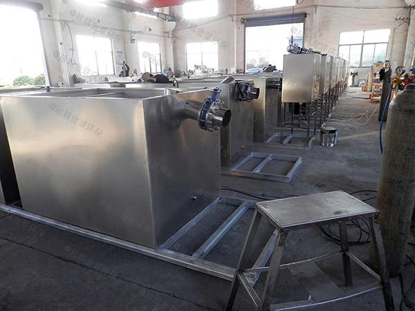 1000人餐厅用的室内隔油一体设备的选型