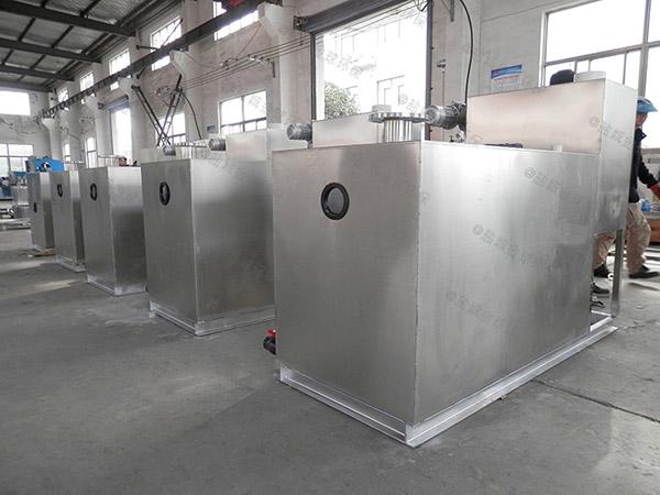 3.1米*1.2米*1.85米餐饮厨房水池潲水隔油提污设备规格型号表