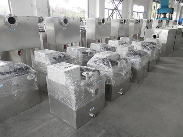 500人餐饮厨房水池混凝土密闭隔油器的型号