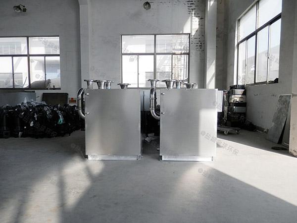 2号小餐饮潲水隔油一体化提升装置构造