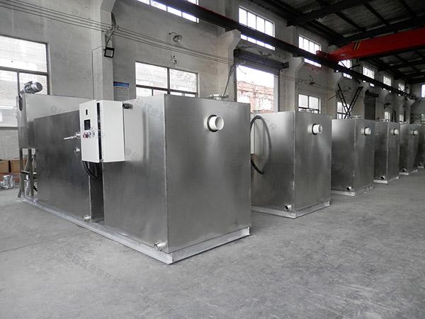 1000人餐饮厨房水池废水隔油一体装置定额