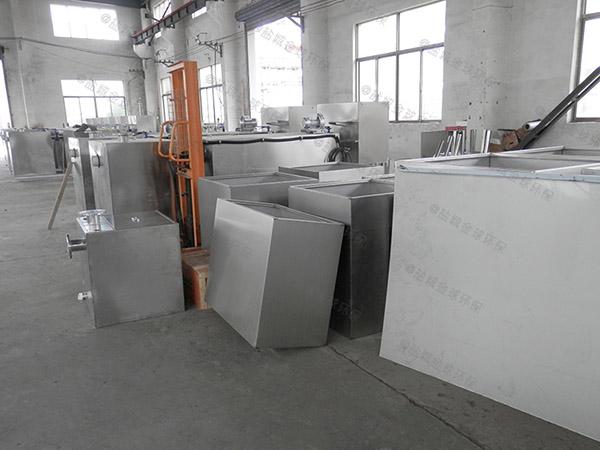 100人厨房洗菜盆下水室外气浮式隔油池的价位
