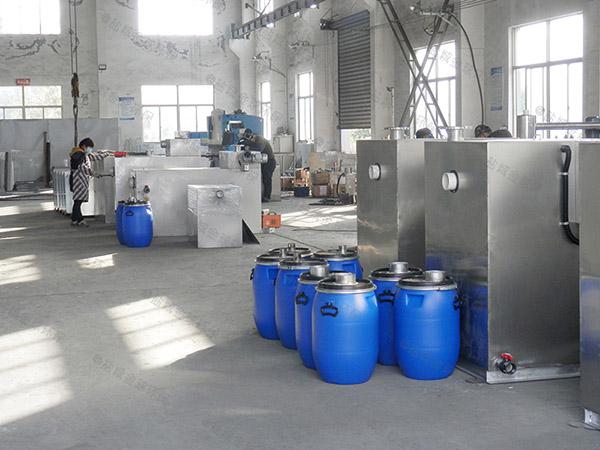 2.8米*1.2米*1.75米餐饮厨房水池污水气浮式隔油池的效率