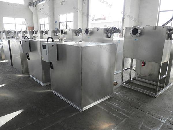 3.5米*1.35米*1.85米餐厅用的混凝土隔油污水提升装置工程
