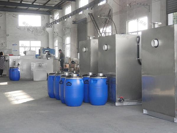 30立方小餐饮污水隔油一体化设备供应厂家