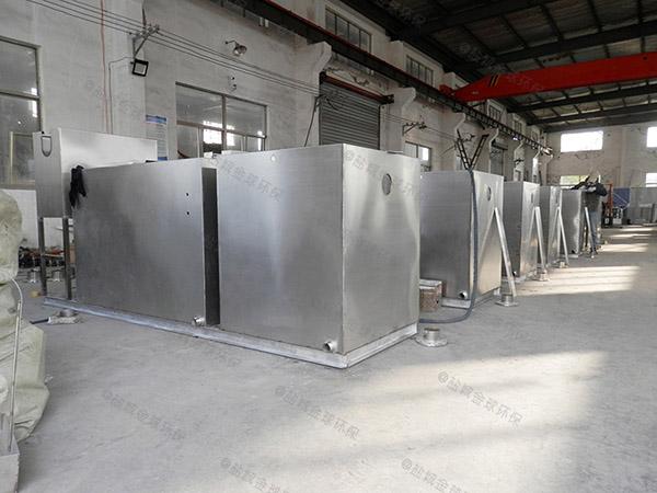 2.8米*1.2米*1.75米厨房下水潲水排水隔油设备的价位