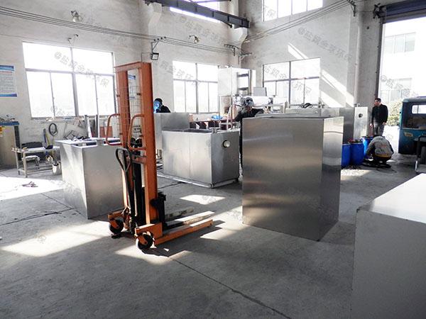 3.1米*1.2米*1.85米厨房洗菜盆下水污水排水隔油器工艺流程