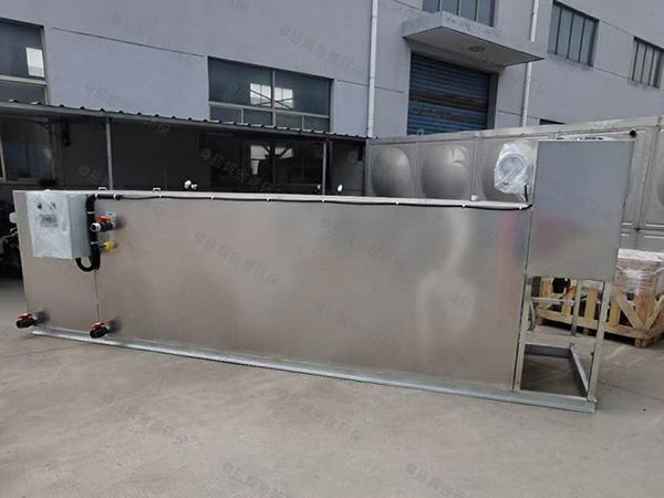1000人餐厅厨房地沟污水气浮隔油器的价格