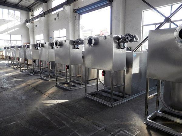 1000人小餐饮室内隔油一体化提升装置的结构
