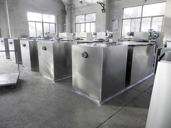 2号小餐馆污水排污油水分离器的去除效率