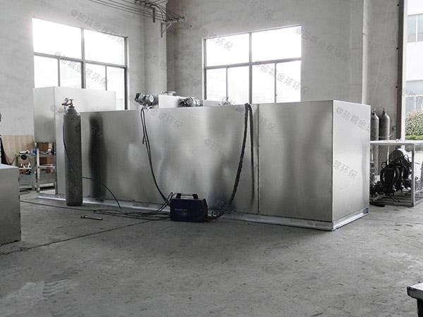 2.8米*1.2米*1.75米小餐饮泔水隔油污水提升装置功能
