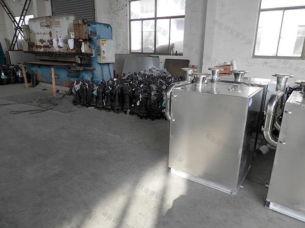 30立方小餐馆室内隔油污水提升装置的图片