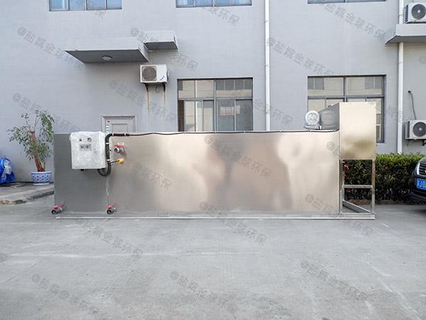 3.5米*1.35米*1.85米小餐馆室外隔油装置的用途