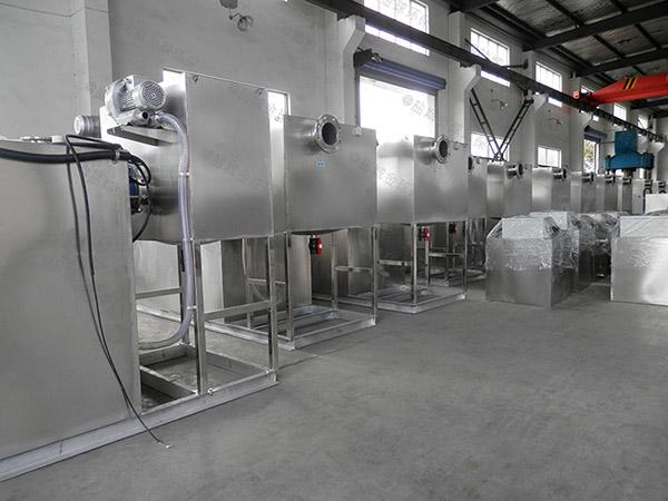 甲型饭店用下水潲水隔油一体化提升装置工程