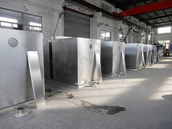 大型餐厨湿垃圾处理设备工艺流程图