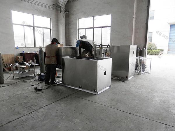 3.5米*1.35米*1.85米小餐馆室内气浮隔油器的用途