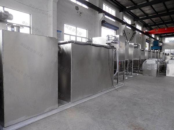 2号厨房下水废水气浮式隔油设备规格价格