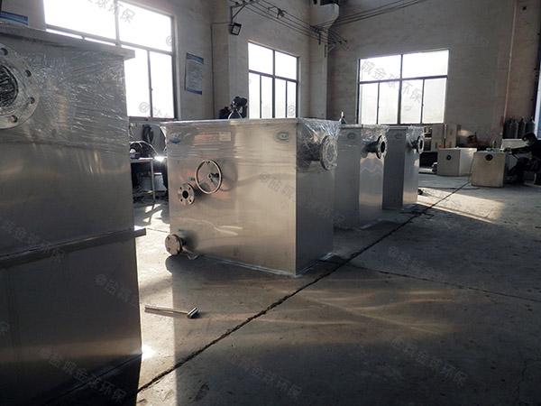 2.8米*1.2米*1.75米小餐饮店污水隔油一体化提升装置的用途