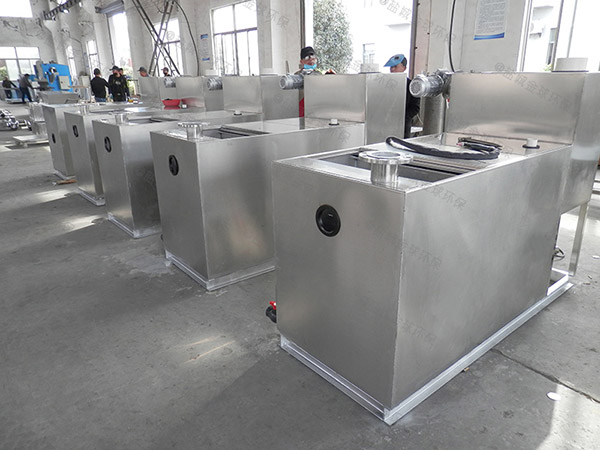 100人饭店用下水污水排水隔油设备的设计计算
