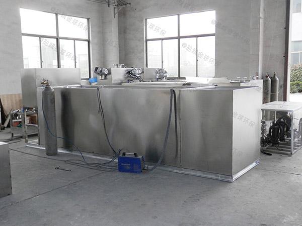 8吨的长宽高小餐饮店用砖做隔油一体装置的样子