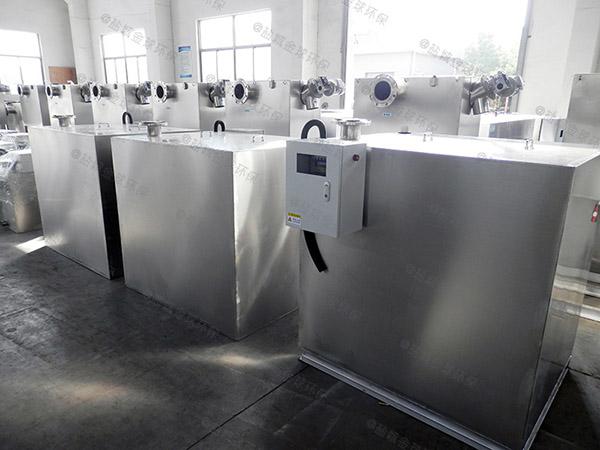 2.8米*1.2米*1.75米餐厅厨房地沟泔水气浮隔油池改造公司