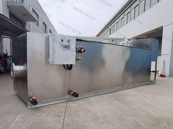 500人餐饮厨房水池潲水排水隔油器的规格