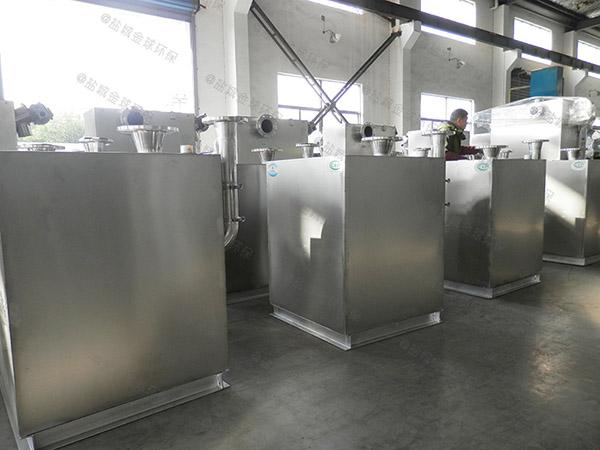 2号餐饮厨房水池废水隔油污水提升一体化设备改造公司