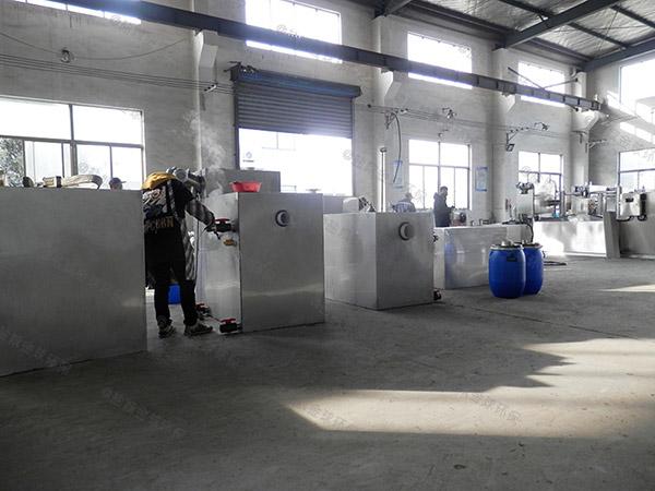 2号餐饮厨房水池泔水气浮隔油设备改造公司