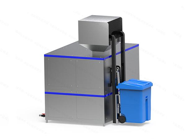 大中型厨余垃圾处理器工艺流程图