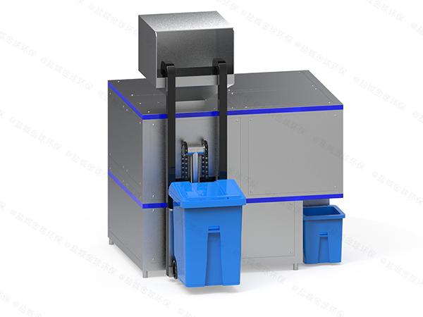日处理10吨智能化餐饮垃圾处理成套设备参数