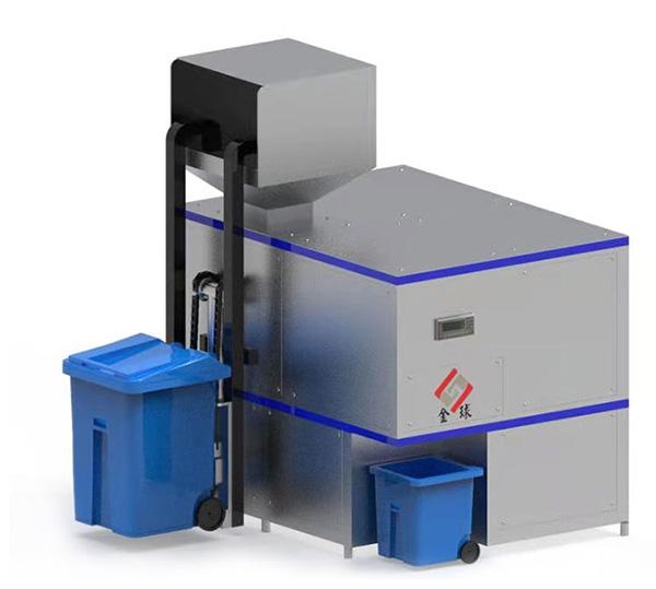 日处理10吨餐厨垃圾减量处理机器