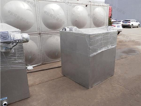 小区地下室排水污水提升器装置一般什么价格