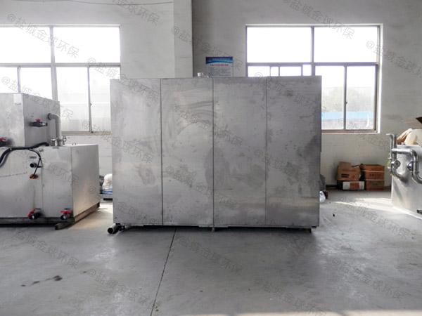 日处理10吨智能化餐饮一体化垃圾处理设备工艺说明