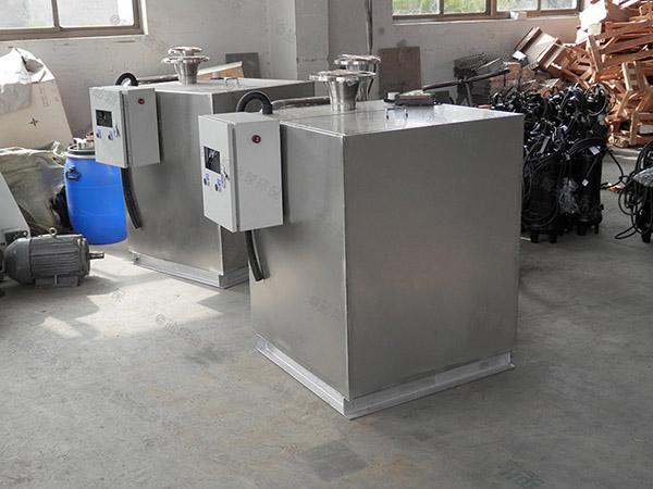 会馆地下室双泵洗污水提升处理器费电么