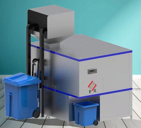 微型全自动厨余垃圾处理设备一体机的好处