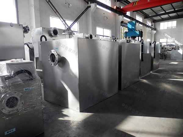 商场自动化污水提升处理器一直响什么原因