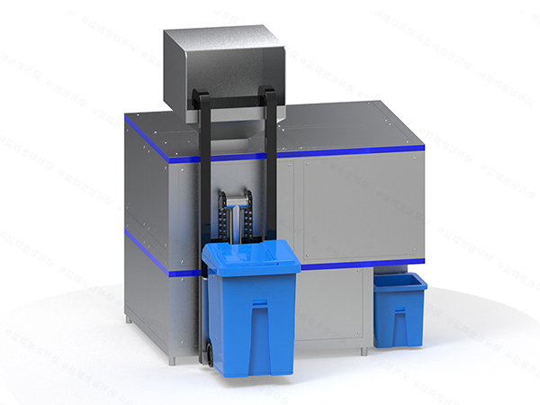 日处理10吨智能化餐厨垃圾处理成套设备厂家